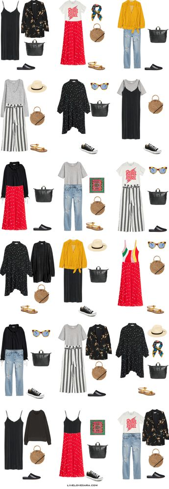 What to Pack For Greece Outfit Options
