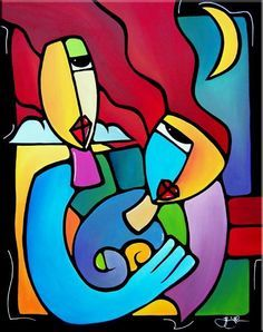 """""""Sharing A Moment"""" by Tom Fedro"""