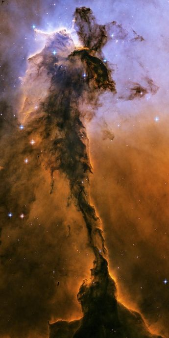 Stunning wall art | Stellar Spire in the Eagle Nebula | Ready to Hang | Printed on fotoflōt