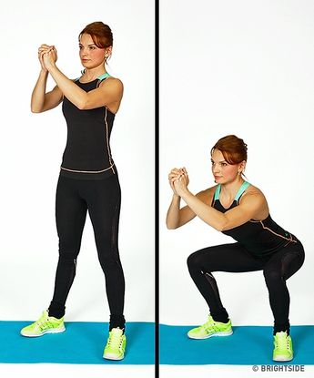 2 Exercise Workout to Get Slim Legs in a Week. This awesome workouts gets you results. #awesome workouts