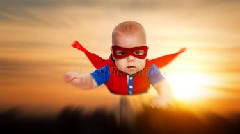 Toddler little baby superman superhero with a red cape flying th. Rough the sky , #Sponsored, #superman, #superhero, #Toddler, #baby, #red #ad