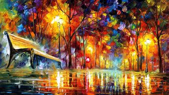 "Modern Art On Canvas Paintings For Home Decor - Lost Love. Size: 36"" X 20"" Inches (90 cm x 50 cm)"