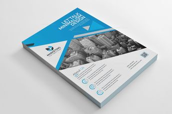 PSD Modern Flyer Design Templates 002849 - Template Catalog