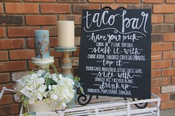 Avery S Onederful Garden Party Custom Wood Sign For Taco