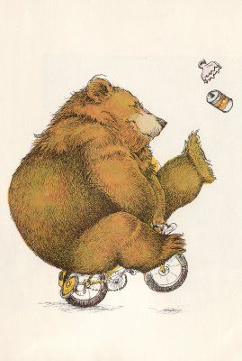 The Bears Bicycle Bears Bicycle Emilie Warren McLeod with illustrations by David McPhail Little, Brown and Co., 1975
