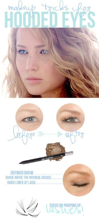 #makeup #person #hooded #tricks #every #needs #tips #with #eyes #know #for #to13 Makeup Tips Every Person With Hooded Eyes Needs To Know Makeup tricks for hooded eyes.Makeup tricks for hooded eyes.
