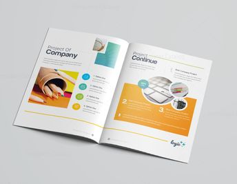 16 Pages Logic Professional Corporate Brochure Template 001199 - Template Catalog