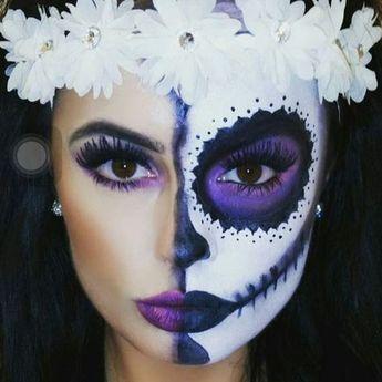 27+ Ideas Makeup Halloween Catrina Mexico For 2019