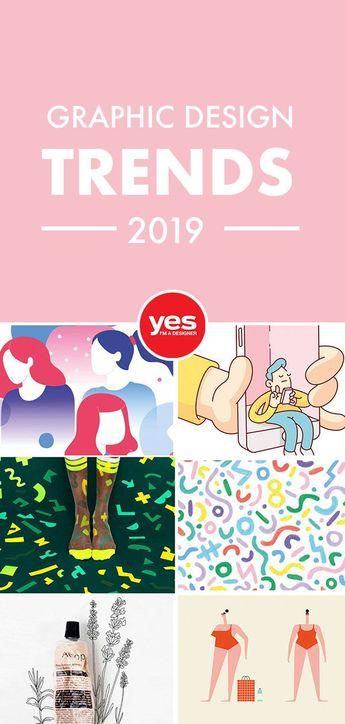 Staying on trend is pretty important in the graphic design world, with so many cool trends evolving we wanted to give you our Graphic Design Trends Predictions for 2019!