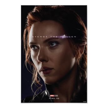 Endgame | Avenge The Fallen - Black Widow Poster | Zazzle.com