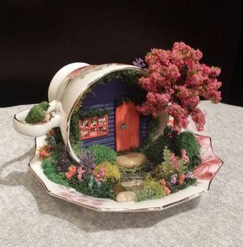 22 Gorgeous Halloween Fairy Garden Ideas For Unique Garden Design at Home / FresHOUZ.com