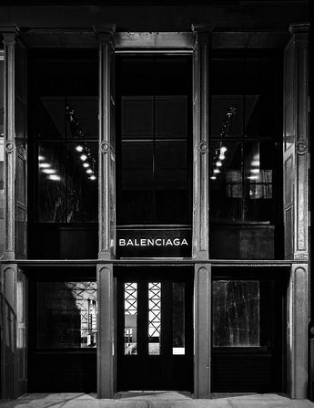 """Cristobal Balenciaga was founded in 1919 in Spain. Head quarters in Paris France.  He had a reputation as a couturier of uncompromising standards and was referred to as """"the master of us all"""""""