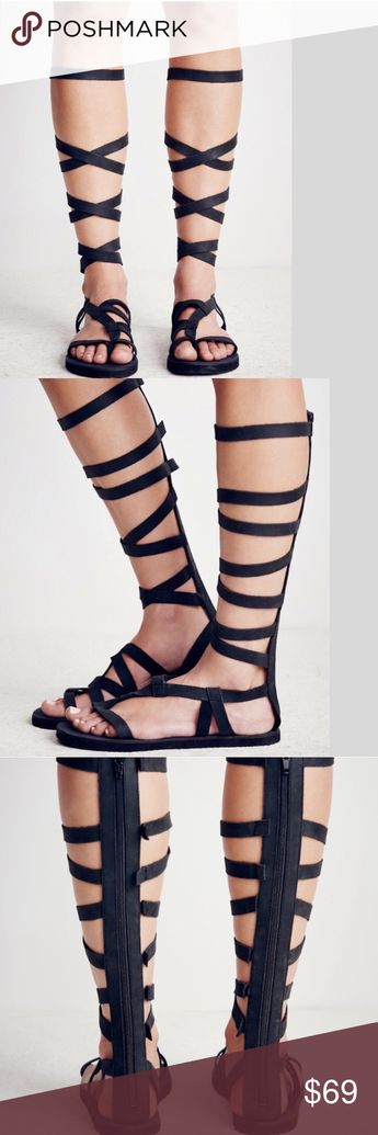dc3848fbb67 Free people cynder leather gladiator sandals