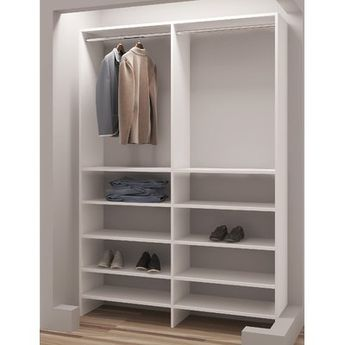 BYGSTAD Wardrobe, white