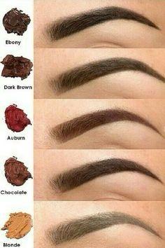 Base maquillage: Le maquillage des sourcils