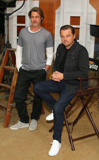Brad Pitt y Leonardo DiCaprio from ¡Las fotos más hot!