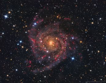 Astronomy daily picture for January 16: IC 342: The Hidden Galaxy