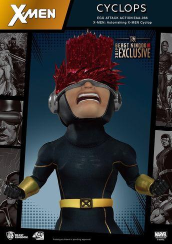 野獸國 Egg Attack Action 系列 Marvel Comics【X戰警 羅根、驚奇X戰警 獨眼龍】X-MEN: Logan、Astonishing X-MEN: Cyclops【2019 TMTC首賣】 | 玩具人Toy People News