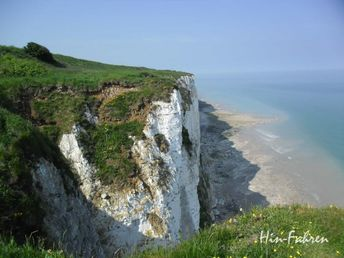 Wohnmobiltour in der Normandie: Reisetipps Alabasterküste im Frühling