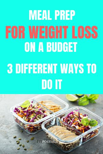 Meal Prep for Weight Loss on a Budget ⋆