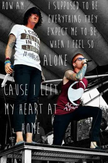 Miles Away - Memphis May Fire featuring Kellin Quinn♥                        love these lyrics because this song always suits perfectly..