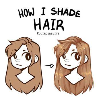 """Rosa / Bella?  no Instagram: """"Alguns de vocês queriam saber como eu sombreia os cabelos, então aqui está!  Aqui está como eu sombreio o cabelo"""
