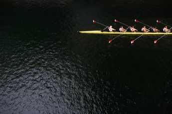 Rowing is an excellent form of exercise, not only because it is good for your health, but also because it can be done solo or as a team to build teamwork. T