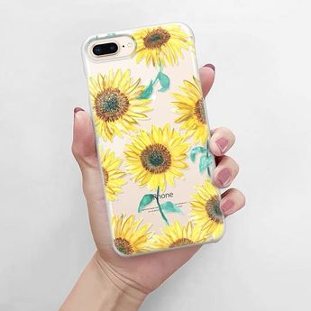 CASETiFY iPhone 7 Case - Sunflowers by Ashley Sta Teresa