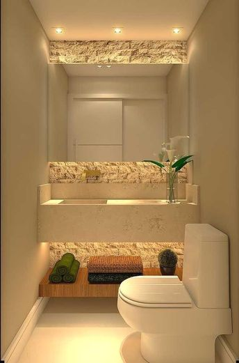 31 beautiful half bathroom ideas for your home 31 - Channel40