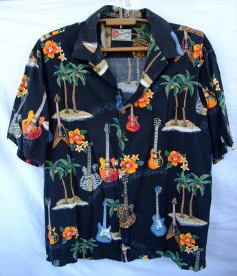 83443b43 Hilo Hattie The Hawaiian Original Men's Shirt Made in Hawaii Multicollor  Made in Hawaii XL Hawaii