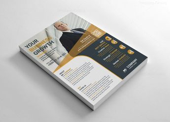 Printable Flyers Design Template 002602 - Template Catalog