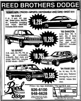 1968 Plymouth Valiant Advertisement