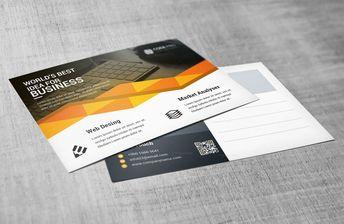 Business Postcard Design Templates 002763 - Template Catalog
