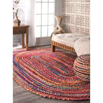 There is a beauty to simplicity which can easily be found in nuLOOM Hand Braided Tammara Area Rug. This exquisitely Hand Braided rug is a versatile piece, made of 100% Cotton that delivers on the quality promised by nuLOOM. Features: - Stripe pattern - Multicolor - Braided weave - Latex free - Made of 100-percent cotton