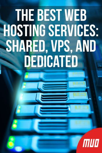 The Best Web Hosting Services: Shared, VPS, and Dedicated