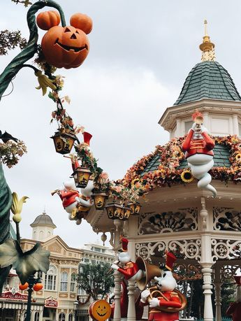 Disneyland Paris en Famille pour Halloween - Sunday Grenadine
