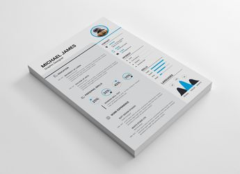 Minimalist Resume Design - Graphic Templates
