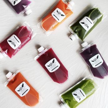 Refill package Life Potion: fresh and raw cold pressed juice. Tel. (Thailand +66... - Cool things