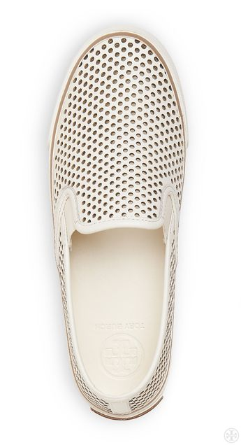 Sporty plus air-conditioning: Tory Burch Miles Perforated Sneaker