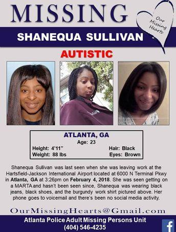Find Missing Shanequa Sullivan! ***(TRAGIC UPDATE: BODY FOUND)***