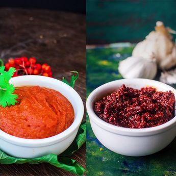 Rajasthani Lehsun Ki Chutney   Garlic Chutney