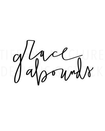 Grace Abounds | Hand Lettering