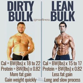 DIRTY BULK vs LEAN BULK by @jmaxfitness - Visit the link in my bio to claim your free copy of Living Large by @vincedelmonte (only 47 copies left). - If you want to look amazing without a shirt on then NEVER dirty bulk. - Here's what I recommend doing instead: - Cut down to a low body fat percentage. You want to be super lean. - Once you reach this low body fat percentage you can either maintain it or you can bulk up. - From here I'd go with a lean bulk. Your goal is to gain 2-4lbs on the scale