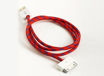 Eastern Collective Wrapped iPhone Cable