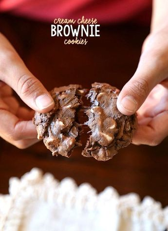 Cream Cheese Brownie Cookies