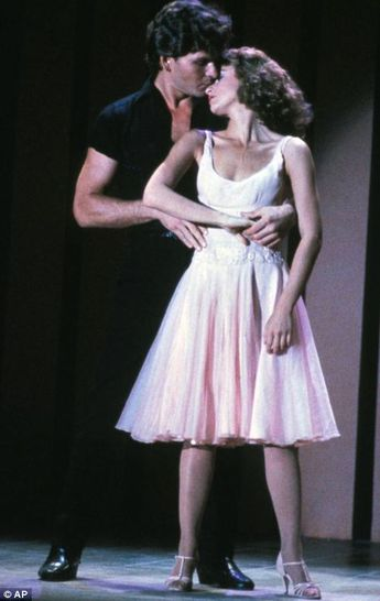 'I still think about being in his arms': Dirty Dancing's Jennifer Grey leads tributes to Patrick Swayze after he loses cancer battle at 57