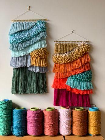 Waves - weaving by maryanne moodie