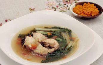 Filipino Pesang Dalag With Miso Dipping Sauce | casaveneracion.com