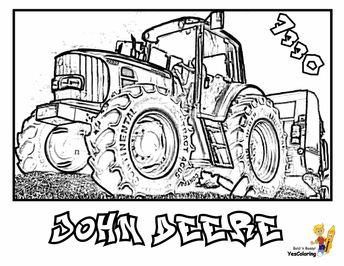 ausmalbilder traktor pulling - kostenlos zum ausdrucken