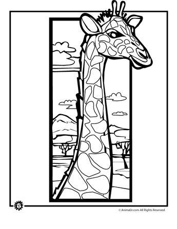Giraffe Coloring Pages giraffe-coloring-page – Classroom Jr.
